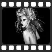 Quadro Decorativo de Cinema Lady Gaga