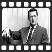 Quadro Decorativo de Cinema Rock Hudson
