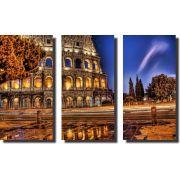 Quadro Decorativo Itália Roma Ponto Turístico Varias Peças