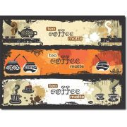 Quadro Decorativo de coffee