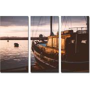 Quadro Decorativo Barcos M1