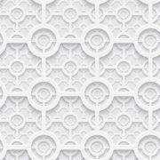 Papel Parede Conexão em 3D Geométrico Autocolante