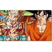 Quadro Decorativo Dragon Ball  Z Goku Super Sayajin  1 peça m13