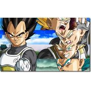 Quadro Decorativo Dragon Ball  Z Vegeta Super Sayajin  1 peça m14