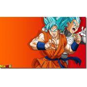 Quadro Decorativo Dragon Ball  Z Goku Super Sayajin  1 peça m15