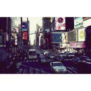 Quadro New York  Movimento cidade