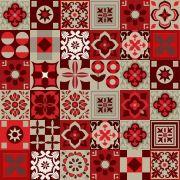 Azulejos Adesivos Decorativos Vermelho