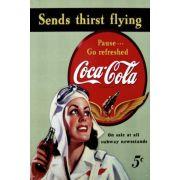 quadro vintage Coca cola modelo 1