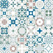 Azulejos em Adesivo Cores Suaves