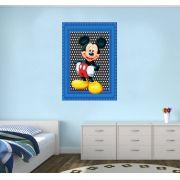 Adesivo Mickey Mouse na Moldura