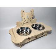 Comedouro Para Cães Animal Pet Cachorro Inox