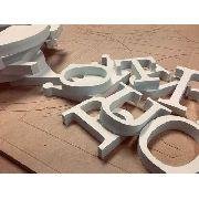 Letra Pvc Caixa Fachada 25 Cmaltura Espessura 20mm 1 Unidade