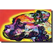 Quadro Decorativo Cachorro Boxer