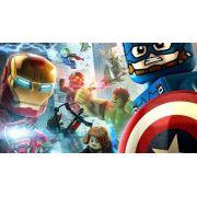 Quadro Decorativo Lego City Heroes Para Quarto Infantil