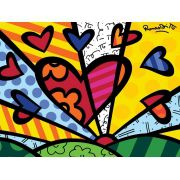 Quadro Romero Britto - A New Day  32x48 cm