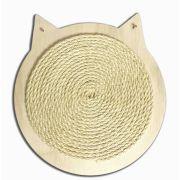 Arranhador Para Gatos formato cara gato com sisal