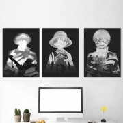 Kit 3 Quadros Decorativos Anomes