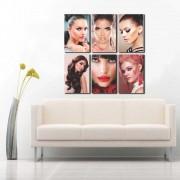 Kit Placas Decorativas Para Salão de Beleza