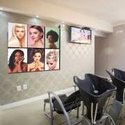 Kit Placas Decorativas Para Salão de Beleza M2