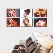 Kit Placas Decorativas Para Salão de Beleza M3