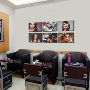 Kit Placas Decorativas Para Salão de Beleza M6