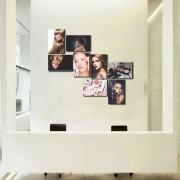 Kit Placas Decorativas Para Salão de Beleza M9