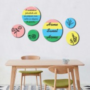 Kit Quadros Decorativos Frases Para Casa