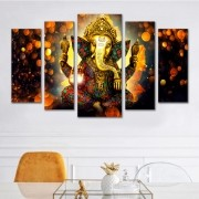 Kit Quadros Decorativos  Ganesha