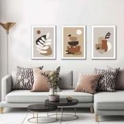 Kit Quadros Decorativos Minimalista Paisagem M2
