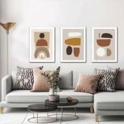 Kit Quadros Decorativos Minimalista Paisagem M3