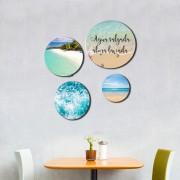 Kit Quadros Decorativos Praia