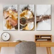 Kit Quadros Decorativos Violão