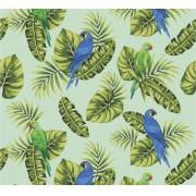 Papel de Parede Papagaio Rolo de 0,60 x 3,00