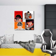 Placas Decorativas Clockwork Orange