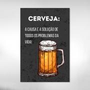 Quadro  Chopp Cerveja