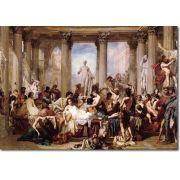 Quadro Decorativo A Queda do Império Romano 1 peça