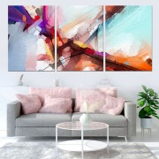 Quadro Decorativo Abstrato Colorido