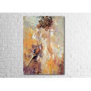 Quadro Decorativo Abstrato Noiva 1 peça