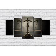 Quadro Decorativo Advocacia Balança