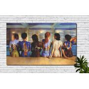 Quadro Musical decorativo Banda Pink Floyd Álbum Mulheres 1 Peça
