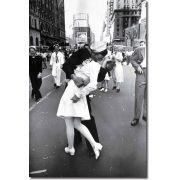 Quadro Decorativo Beijo da Segunda Guerra Mundial 1 peça
