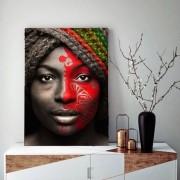 Quadro Decorativo Beleza Afro M2