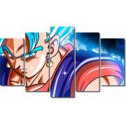 Quadro Decorativo Dragon Ball Goku Super Sayajin 5 Peça M23