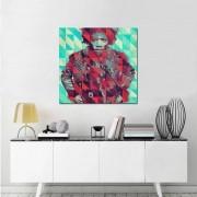 Quadro Decorativo Jimi Hendrix 1 Peça 60x60