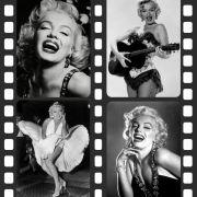 Quadro Decorativo Moderno  Atriz Famosa Marilyn Monroe