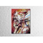 Quadro Decorativo Mulher Abstrata 1 peça