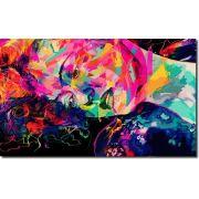 Quadro Decorativo Mulher Colorida Moderna