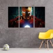 Quadro Decorativo Quarto Homem De Ferro 60x100