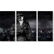 Quadro Decorativo Rorschach Wallpaper 3 peças