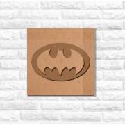 Quadro Decorativo Super Herói Batman Recorte Mdf 6 mm